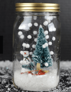 Top 10 Holiday Crafts Snow Globe Creation
