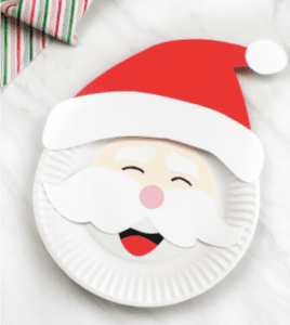 Paper Plate Santa Top 10 Holiday Crafts