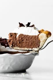 photo of french silk pie