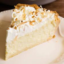 photo of coconut cream pie