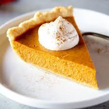 picture of pumpkin pie slice
