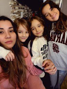 Karina and her family