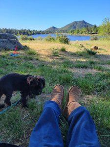 Morning views at camp