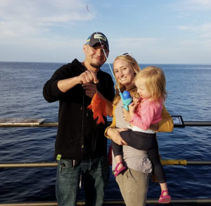 Our Daughter's First Catch