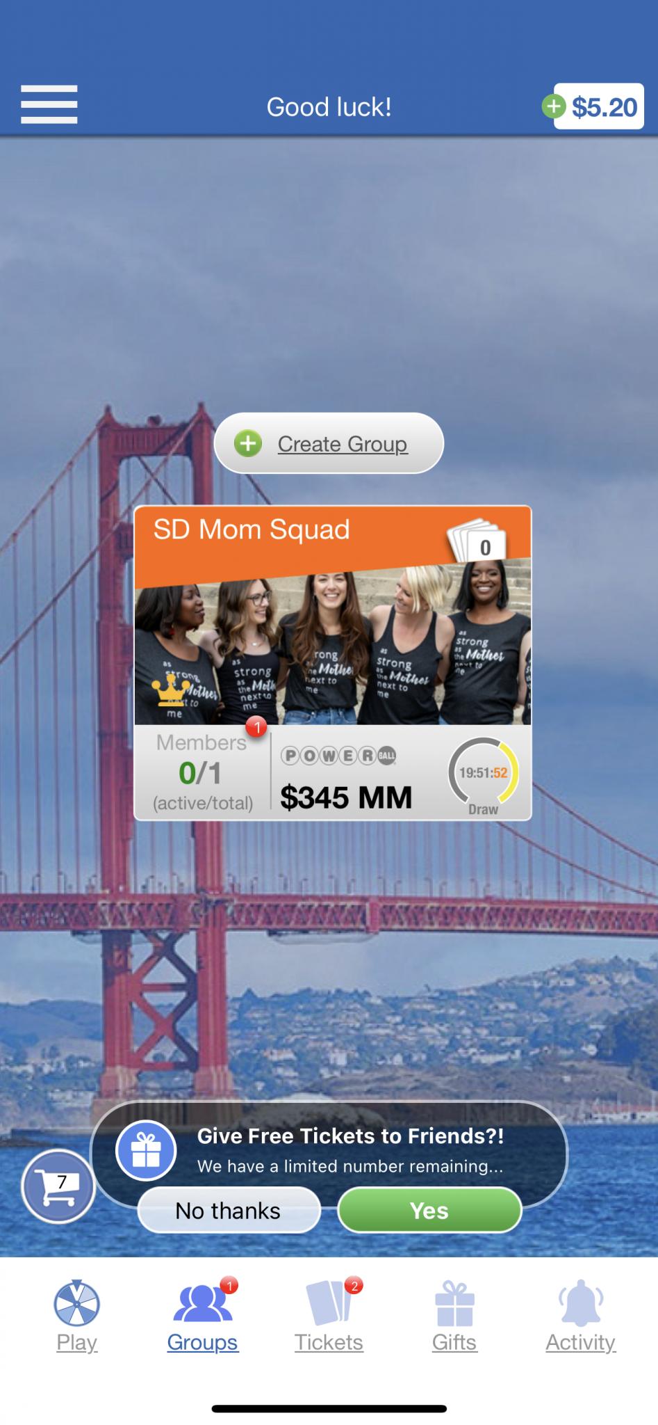 group play on Mido Lotto