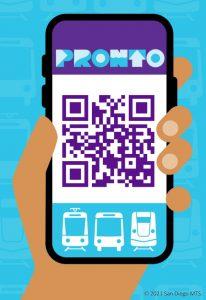 graphic PRONTO mobile app